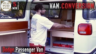 4. Dodge Passenger Van Full Build Tour