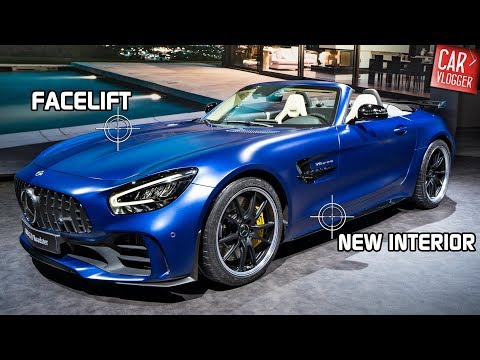 SNEAK PREVIEW The NEW Mercedes-AMG GT R Roadster 2019 LIMITED EDITION