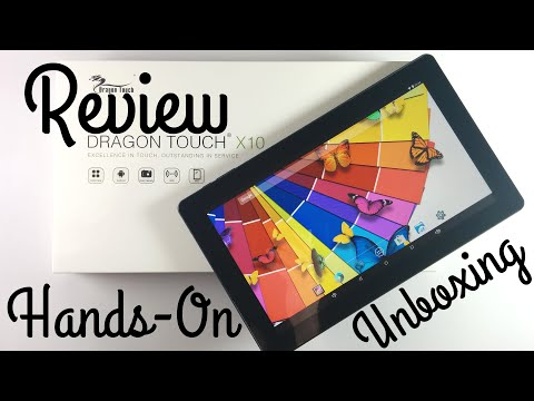 Dragon Touch X10 Tablet Test / Review / Hands-On
