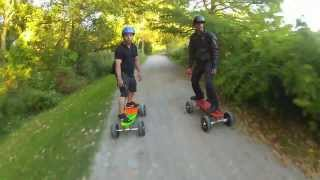 Skatetek Electric/Motorized Skateboards - YouTube