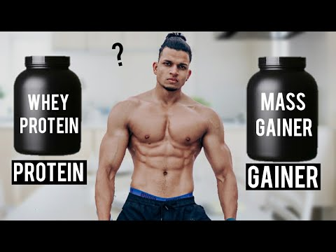 WHEY PROTEIN VS. MASS GAINER? | Biceps Workout & Supplement GIVEAWAY