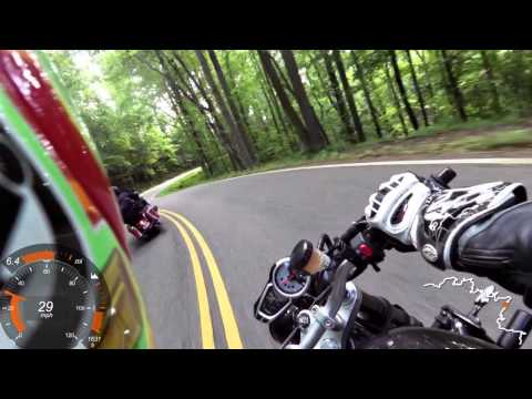 Tail of the Dragon - The most intense, epic, nauseating video you will see in the next 12 minutes!