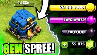 Video GEMMING TO TOWN HALL 12! ✅ UNLOCKING NEW FEATURES IN CLASH OF CLANS! MP3, 3GP, MP4, WEBM, AVI, FLV Juni 2018