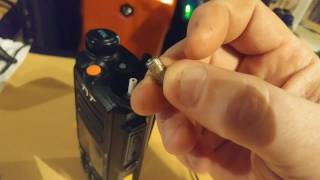 The sma connector on the TYT MD 2017 Failure Break