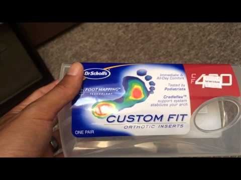 Dr. Scholl's Custom Fit Orthotic Inserts Review