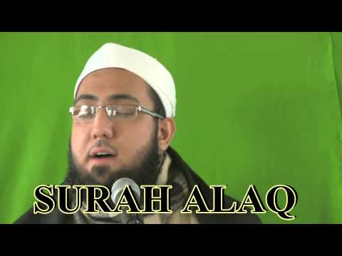 Abuzar Al Ghiffari Surah Al Haqqah & Alaq (Iqra) (видео)