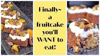 Vegan Fruitcake Recipe by Gretchen's Bakery