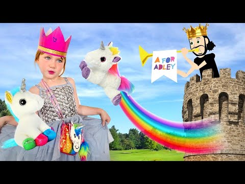 KiNG and QUEEN build Unicorn Castle!!  Play Pretend Game with Dad, neighbor won't wakeup makeover 🦄