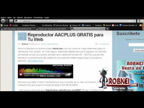 Reproductor Flash AACPLUS Gratis Para Tu Pagina  Web .FLA Editable