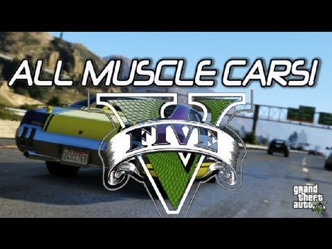 Gta Muscle Car Locations