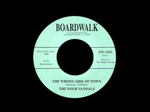 The Four Vandals - The Wrong Side Of Town
