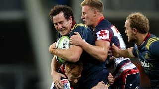 Highlanders v Rebels Rd.6 Super Rugby Video Highlights 2017