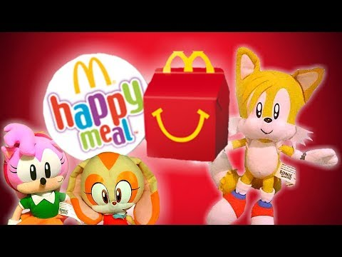 Sonic the Hedgehog - Tails' Happy Meal!