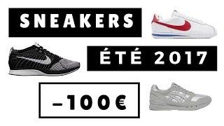 Concours YEEZY Instagram : https://www.instagram.com/p/BWW8MzvDpEy/?taken-by=the_so_styleHello la Team Stylé !VOTRE SÉLECTION SNEAKERS POUR L'ÉTÉ 2017 À MOINS DE 100€ ! Les amis, suite à ma vidéo sur les tendances sneakers pour l'été 2017, vous avez été nombreux à vouloir une autre édition sur le même thème ! Je vous ai donc demandé sur snapchat de m'envoyer vos sneakers préférés pour moins de 100€ ! En espérant que la vidéo vous plaise ! :) N'hésitez pas à réagir en commentaire en me donnant votre avis sur les chaussures, les commentaires sont faits pour en discuter, n'hésitez pas :) MUCH LOVE #TeamStylé ! LIENS UTILES CITÉS DANS LA VIDÉOVidéo sur les meilleures sneakers pour cet été : https://www.youtube.com/watch?v=nKl-OnfhQlgVETEMENT QUE JE PORTE Tee-shirt : AllSaintsMusique d'introduction : Your Mind - Hedia  Feat Kristen MarieVous pouvez nous suivre sur : Facebook : https://www.facebook.com/TheSOStyleTwitter : https://twitter.com/TheSOStyleInstagram : https://www.instagram.com/sostyle_off/Snapchat : SOStyleeContact Pro Uniquement : contact@so-style.fr*AVERTISSEMENT : cette vidéo n'est pas sponsorisée