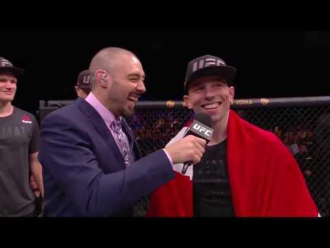 UFC Copenhagen: Mark Madsen Octagon Interview