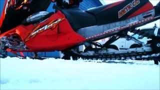 7. Arctic Cat F7 snopro efi 2005 test run