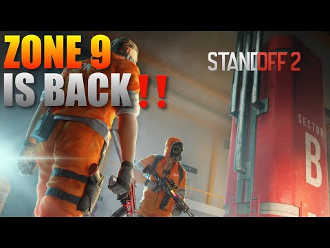 Standoff 2 Project Z9 Update New Zone 9 Map Competitive Gameplay‼️