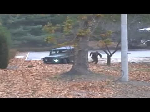 North Korean soldiers shoot defector as he escapes