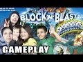 The Skylander Family plays Block 'n Blast - Shooting Down Kaos w/ Special Effects!