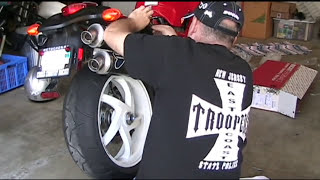 8. 2006 Ducati S2R 1000 Termignoni kit DIY Install before and after great Termi sound