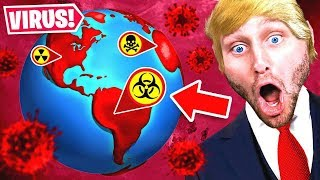 The DONALD TRUMP VIRUS is TAKING OVER THE WORLD (Plague inc)