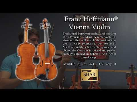 Video - Franz Hoffmann® Vienna Violin - Instrument Only | HEV300