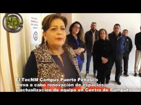 El TecNM Campus Puerto Peñasco lleva a cabo renovación de espacios y actualización de equipo en Centro de Cómputo