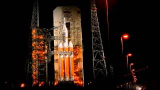 Delta IV Heavy Orion EFT-1 Mobile Service Tower Rollback Before Launch