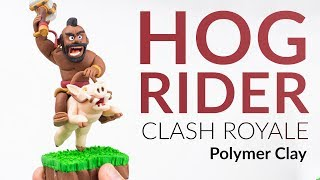 "Please watch: ""Lugia (Pokemon) – Polymer Clay Tutorial"" https://www.youtube.com/watch?v=15hHtHiKSuc-~-~~-~~~-~~-~-Hey guys, welcome to this polymer clay tutorial! Today we will create the HOG RIDER from Clash Royale!After creating my last human face (Tutorial of the Night Witch) I spend some extra time on the hog Riders Face to avoid some mistakes. Let me know what you think of the creation or if you have any questions about the clay creation.-----------------------------------------------------------LINKS:my CLAY ▸ http://amzn.to/2vHCqNrNight Witch Tutorial ▸ https://youtu.be/6ZK6K2Ctu4YFireball Tutorial ▸ https://youtu.be/OXYXzqcCZ-k-----------------------------------------------------------More ways to follow me:Instagram ▸ https://www.instagram.com/clayclaim/Snapchat  ▸ https://www.snapchat.com/add/clayclaimFacebook ▸ https://www.facebook.com/clayclaimTwitter ▸ https://twitter.com/ClayClaimEtsy ▸ coming soon ;)"