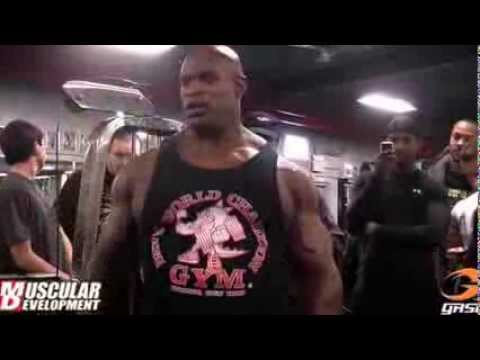 Ronnie Coleman and Kevin english back training tips