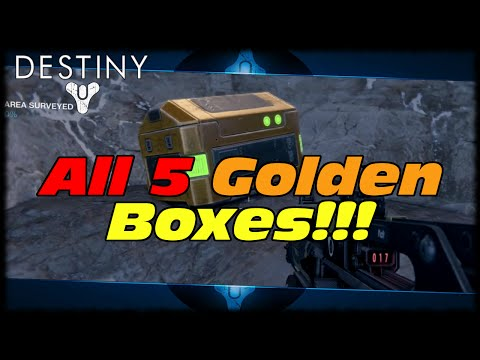 LOOT!!! - This Destiny Video Will Show You Where All 5 Golden Loot Chest Can Be Found In Old Russia For A Free Sparrow Upgrade! Whats in the BOX!!! Check Out RedHamusla and Silent Core! http://www.youtube....