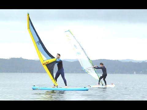 Surf-Trend Lightriding: So soll Windsurfen lernen einfacher werden II How to II PULS Playground