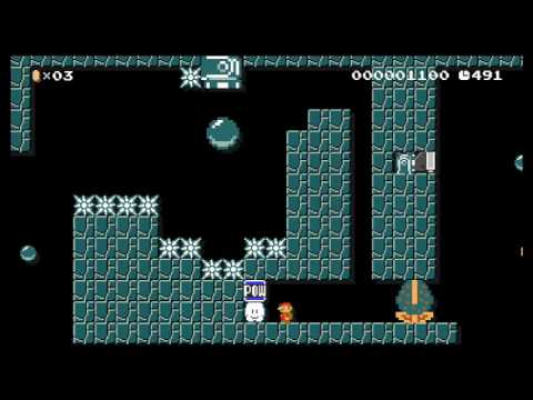 Cannon Canyon - Playing fun Super Mario Maker levels