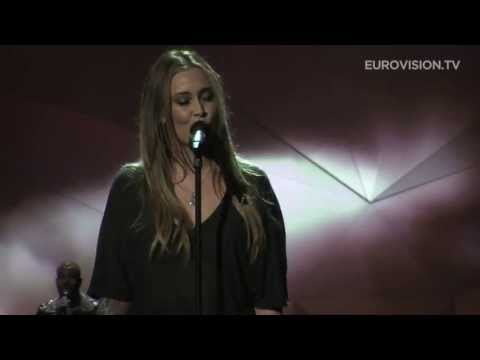 second - Powered by: http://www.eurovision.tv Anouk, representing The Netherlands at the 2013 Eurovision Song Contest with her song Birds, finished her second rehears...