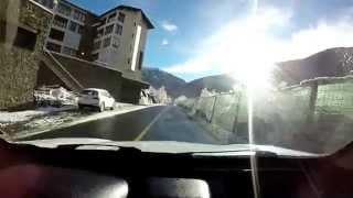 Soldeu Andorra  city images : LLegando a soldeu paisaje muy bonito (andorra)17-11-2014