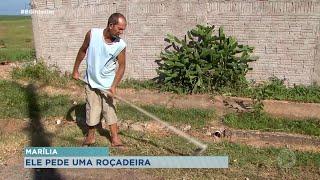 Morador de Marília busca ajuda para voltar ao mercado de trabalho após acidente