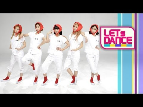 Let's Dance: Crayon Pop(크레용팝) _ Uh-ee(어이) [ENG/JPN/CHN SUB]