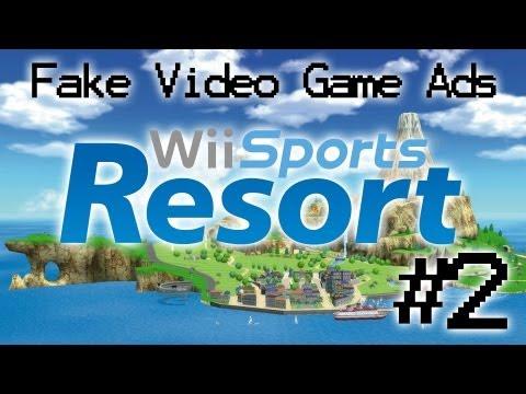 Fake Videogame Ads: Wii Sports Resort #2