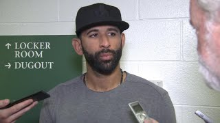 Jose Bautista talks about the Blue Jays being in the middle of a tough season and rumours as the trade deadline nears.