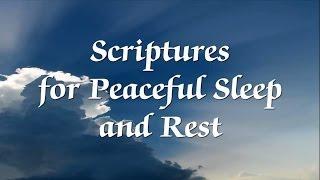 scripture for sleep