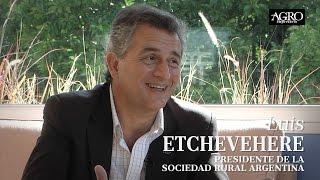 Luis Etchevehere - Presidente de la Sociedad Rural Argentina