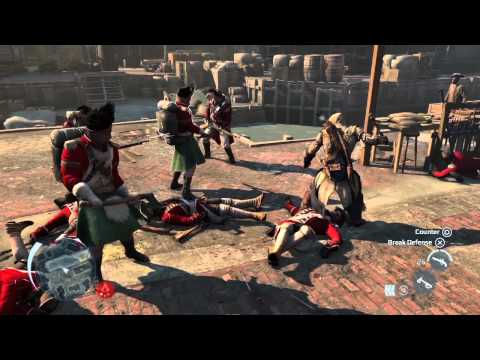 0 Assassins Creed 3 video shows off new stealth and combat mechanics within a city setting