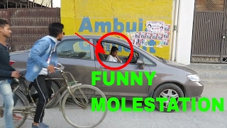"""Girls molested by antisocial boys in front of her bf and watch this funny molesting video and learn how to protect herself from molestation. Girls should fight against molestation .They molested girl in front of public. So girls should fight against molesting and harassing girls by boys and learn how to protect herself by these incident. Harassment in public . This is a funny vines of 2017We say STOP Molestation and Harassing girls .   Starring: Vatan SachanPoonam YadavMukesh KumarCAMERA MAN = Mahesh BairwaDisclaimer: Please do not judge anyone's personality or hate them on basis of my video. This channel & video is meant for entertainment purposes only and We do not intend to hurt the sentiments of any individual, community, sect or religion. We focus on joking and try to make our content funny to see you all loughing. It is neither about Politics nor about hating someone please do not go on a way to hate someone.-~-~~-~~~-~~-~-Please watch: """"IMPRESSING {HOT GIRL} GONE WRONG with """" https://www.youtube.com/watch?v=HQbW8327lfE-~-~~-~~~-~~-~-"""