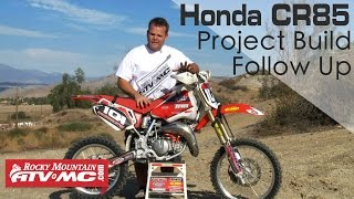 10. Honda CR85 Trail Bike Build Follow Up
