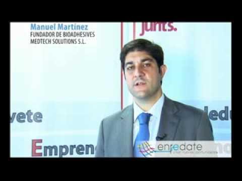 D. Manuel Martínez, fundador de Bioadhesives Medtech Solutions SL.