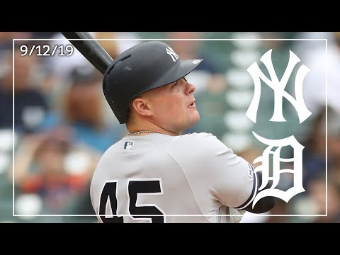 New York Yankees @ Detroit Tigers | Game Highlights | 9/12/19