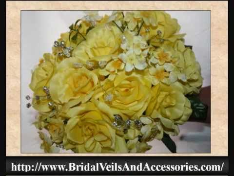 How to make a Bridal or Wedding Bouquet