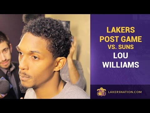 Video: Lou Williams After Season-High 30 Points In Lakers Victory Over Suns