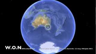 Trafalgar East Australia  city photos gallery : EarthQuake AustraliA 5.5 magnitude Moe, Victoria