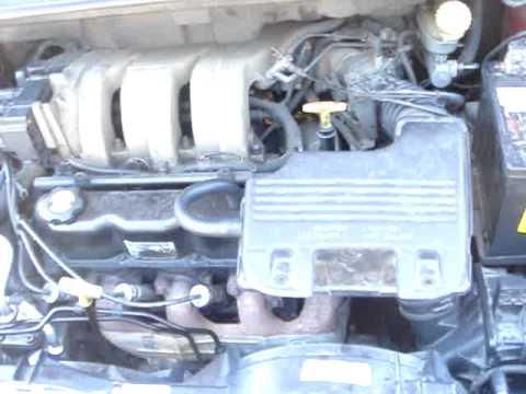 How to change a starter on a Dodge Caravan 1996,1997,1998,1999.MPG